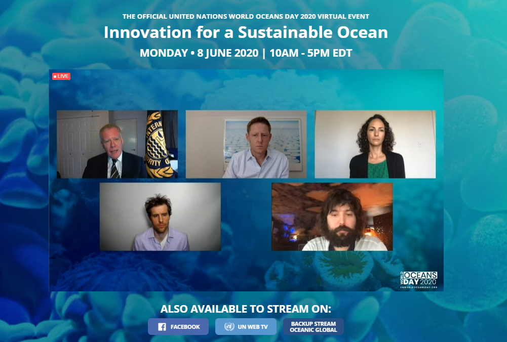 2020 UN World Oceans Day panel