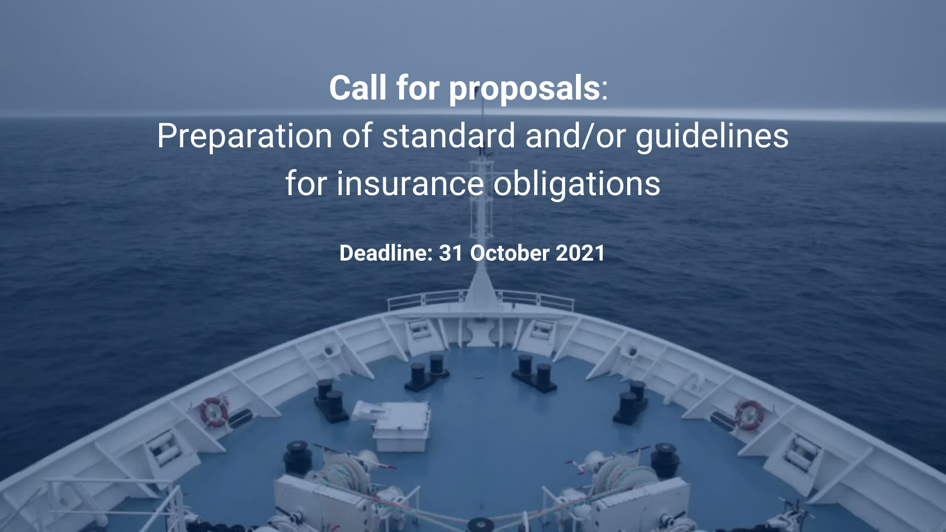 Call for proposals 2