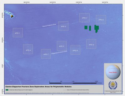 Global Sea Mineral Resources NV map